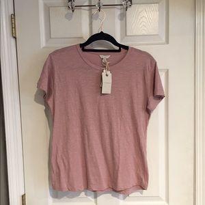 Lucky Brand Mauve glitter T-shirt NWT 💕